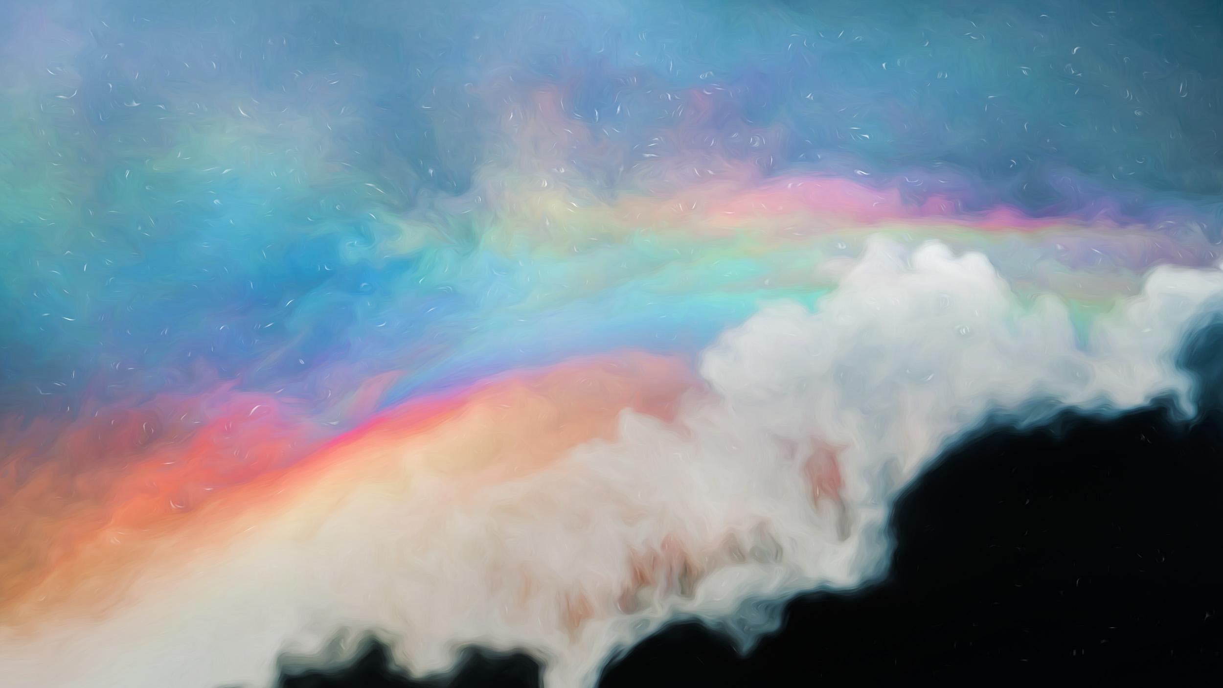 """""""Rainbow Crest"""""""