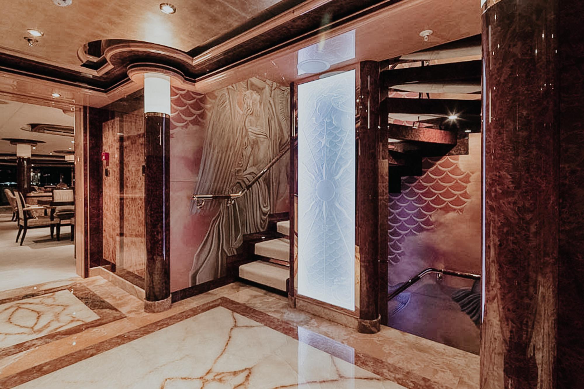 Luxury Superyacht foyer fitout
