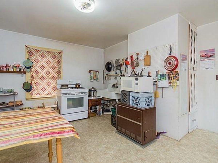 First floor kitchen before