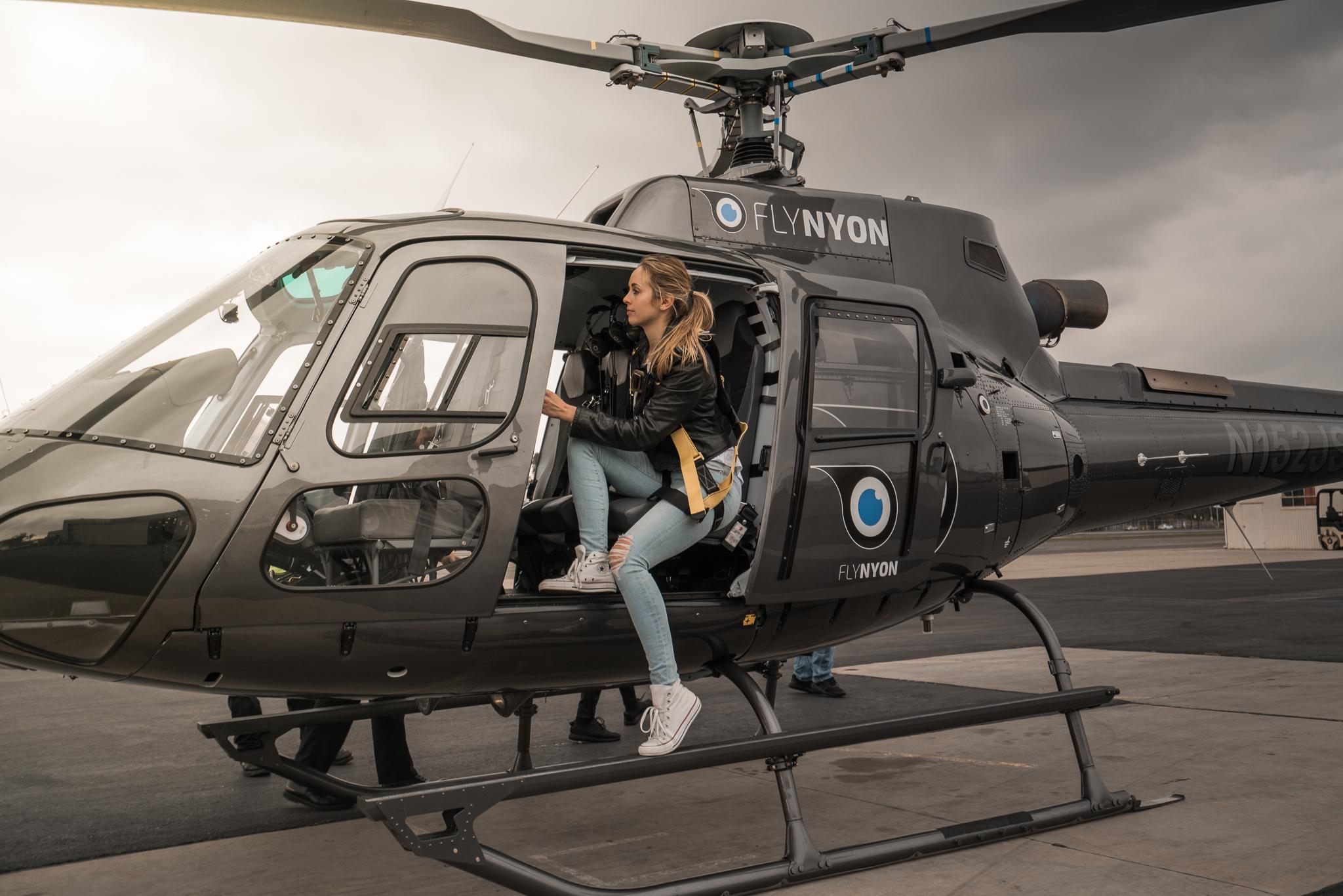 FlyNYON Los Angeles Open Door Helicopter Ride