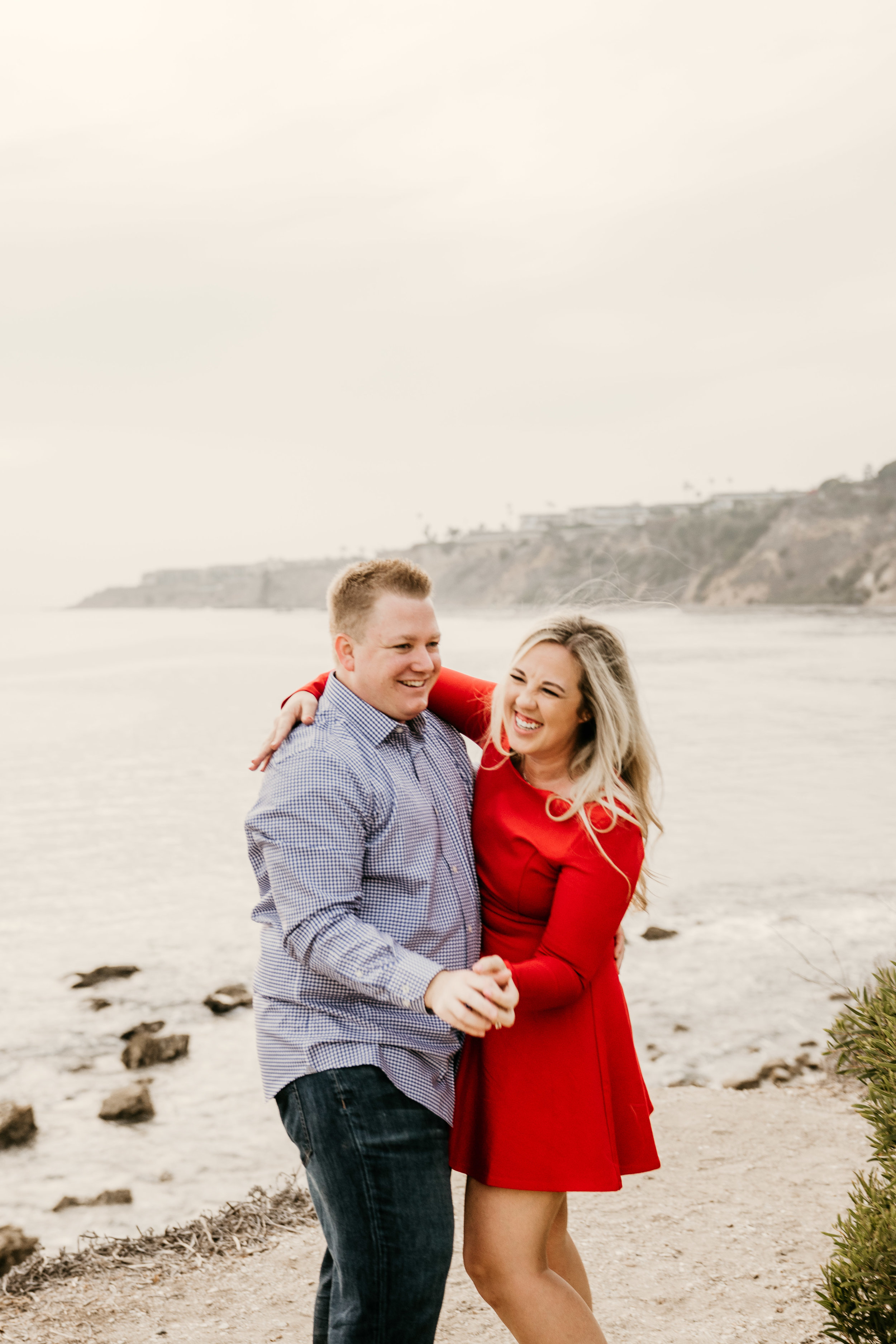 Abalone Cove Engagement Photos