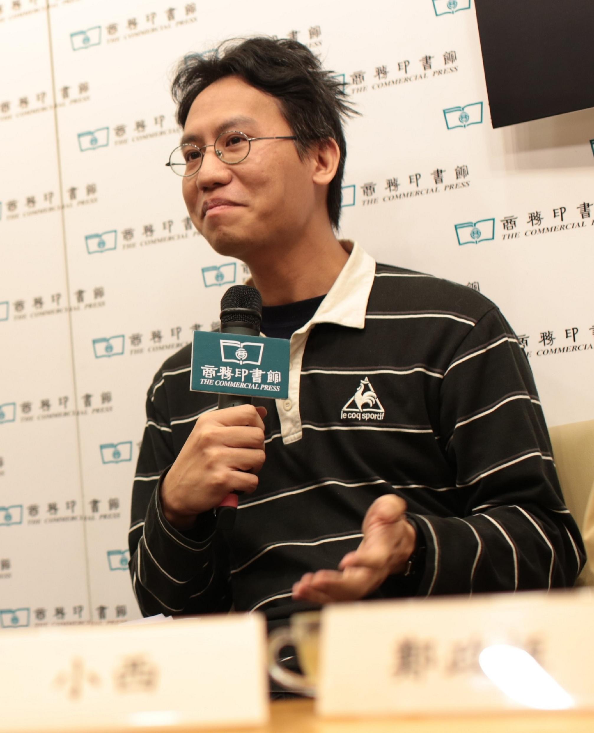 鄭政恆發現最少人寫散文評論.JPG