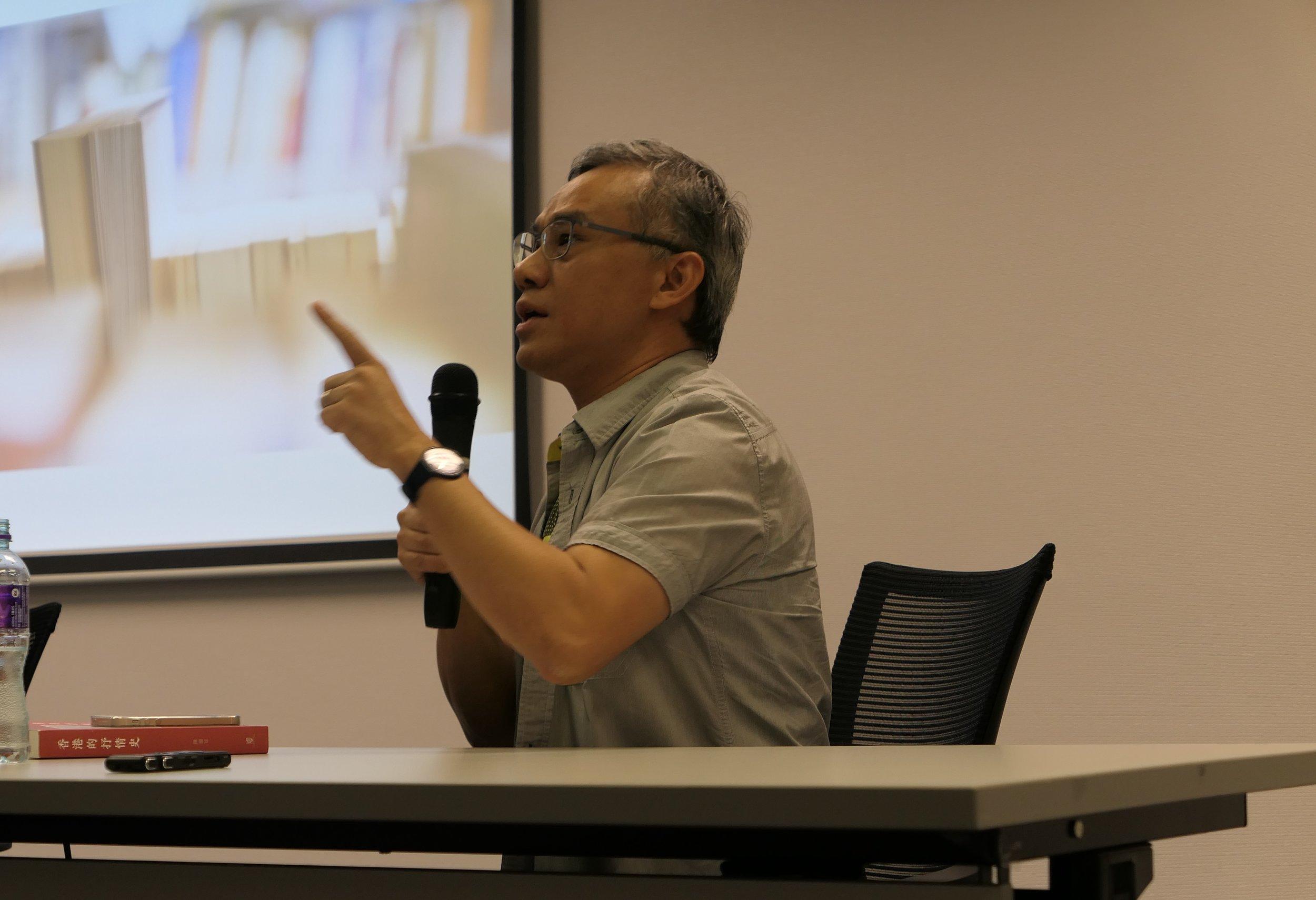 蔡元豐說香港文學作為評論,用論述呈現一個文學的香港。