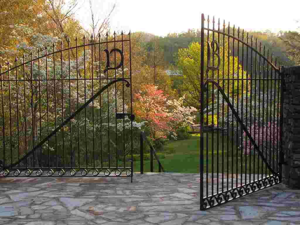 The Garden Gates in Spring