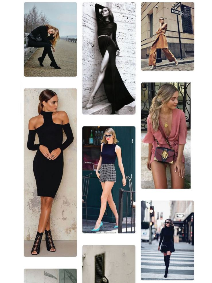 Melbourne Fashion - Moodboard / Shot Concepts