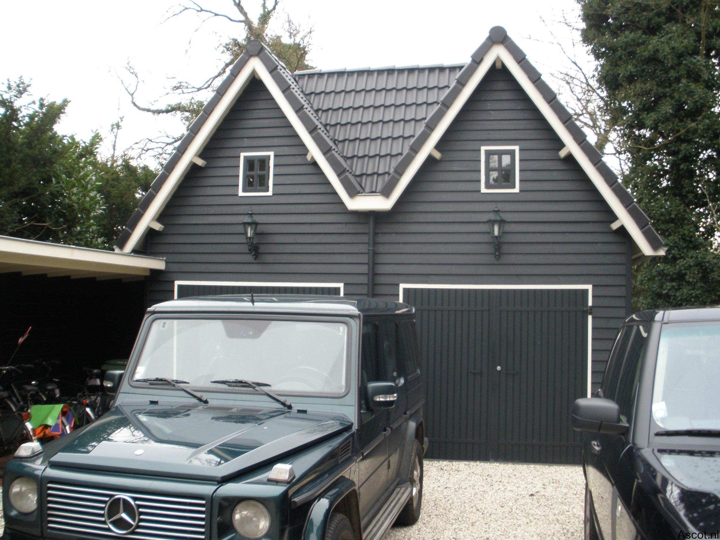 Dubbele garage Ascot Systeembouw