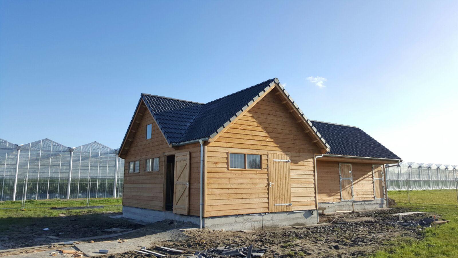 Garage inclusief paardenstal Ascot Systeembouw Nederland