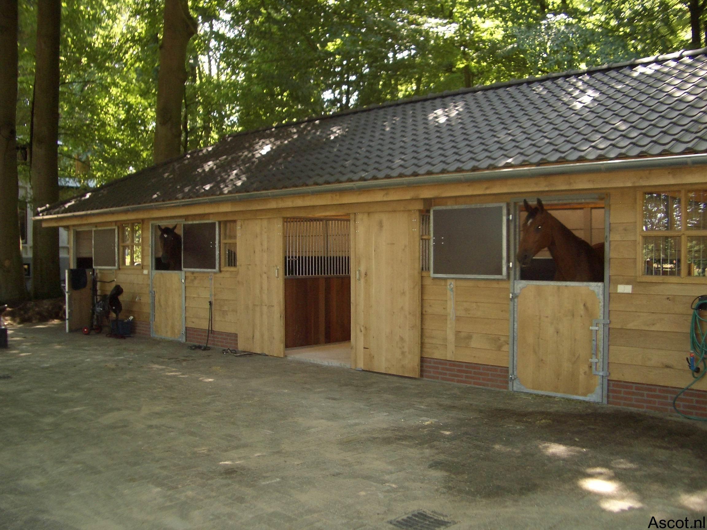 Paardenstal Ascot Systeembouw Nederland