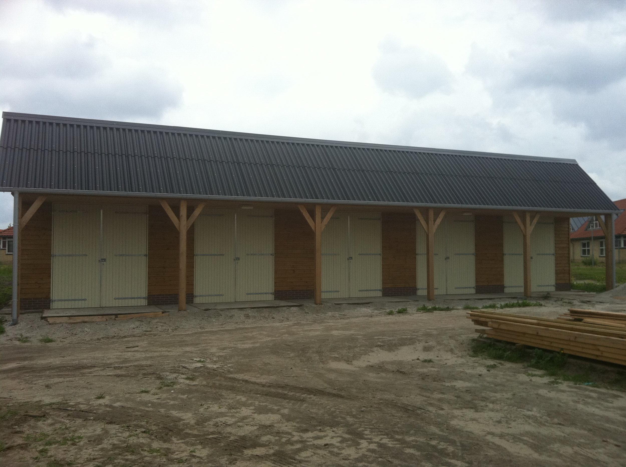 Riante garage Ascot Systeembouw Nederland