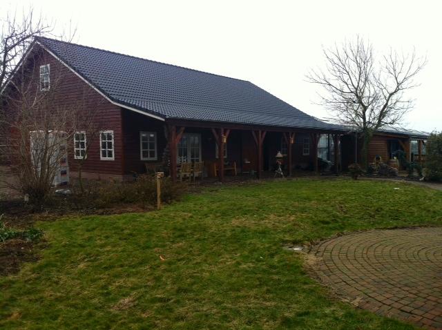 Landelijk uitgevoerde guesthouse