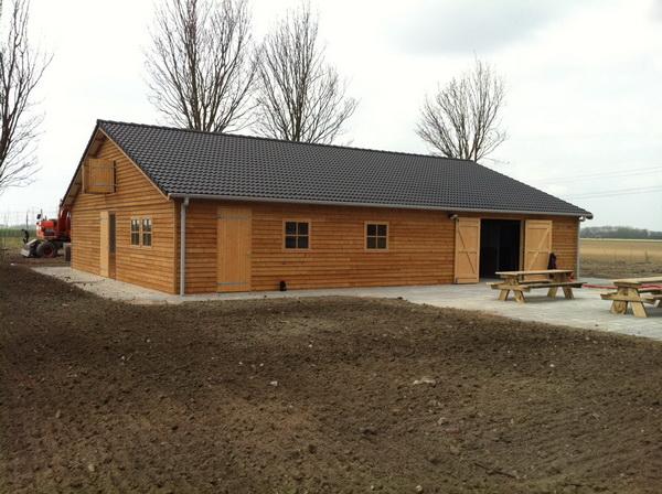 Campinggebouw Ascot Systeembouw Nederland
