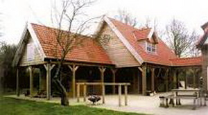 Guesthouse inclusief paardenstal Ascot Systeembouw Nederland