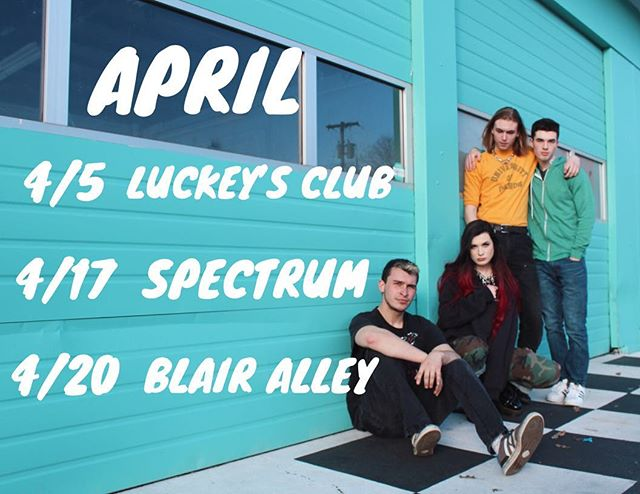 April show dates ✨ Come hang with us!
