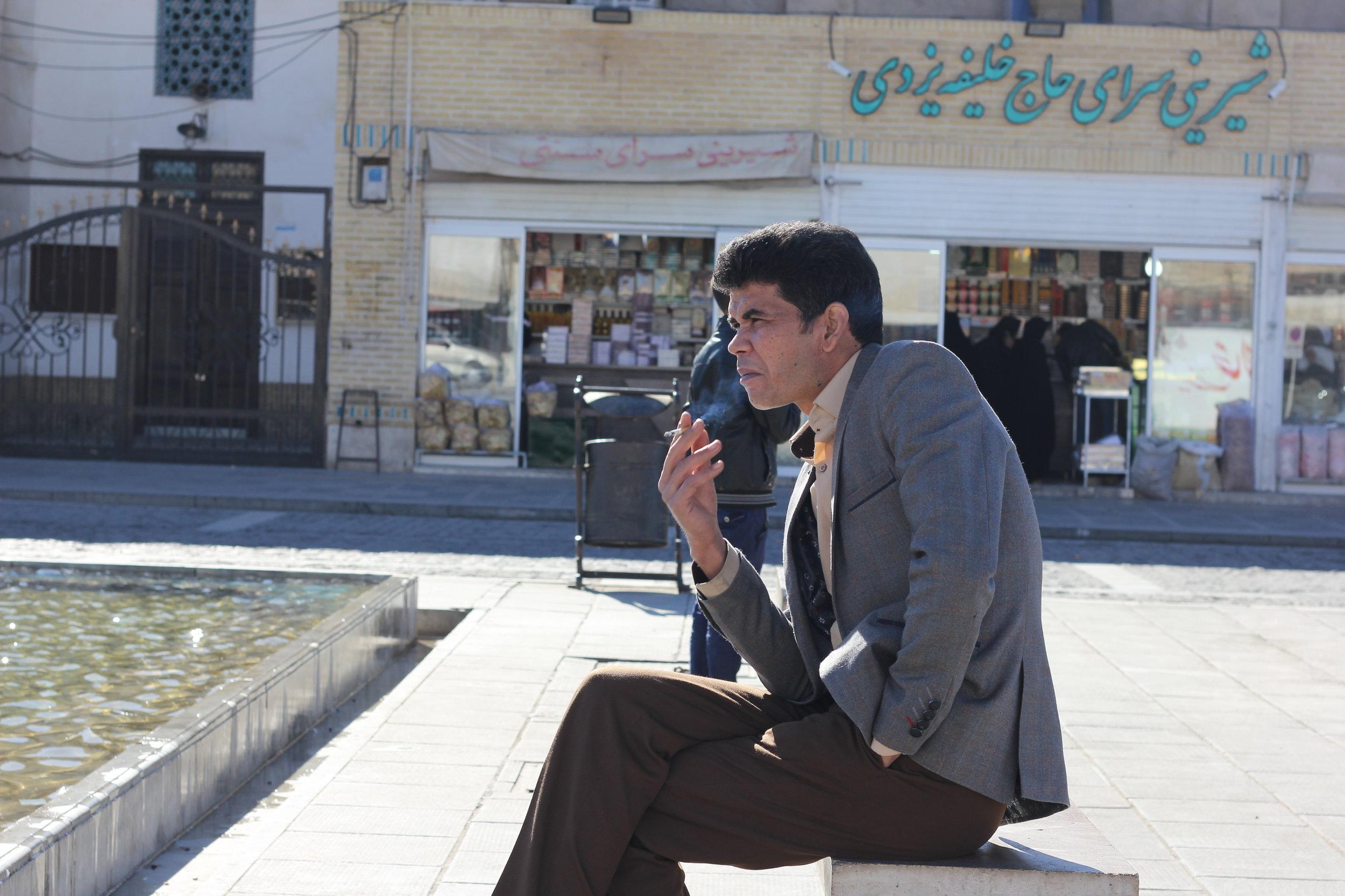 Smoking Man, Yazd