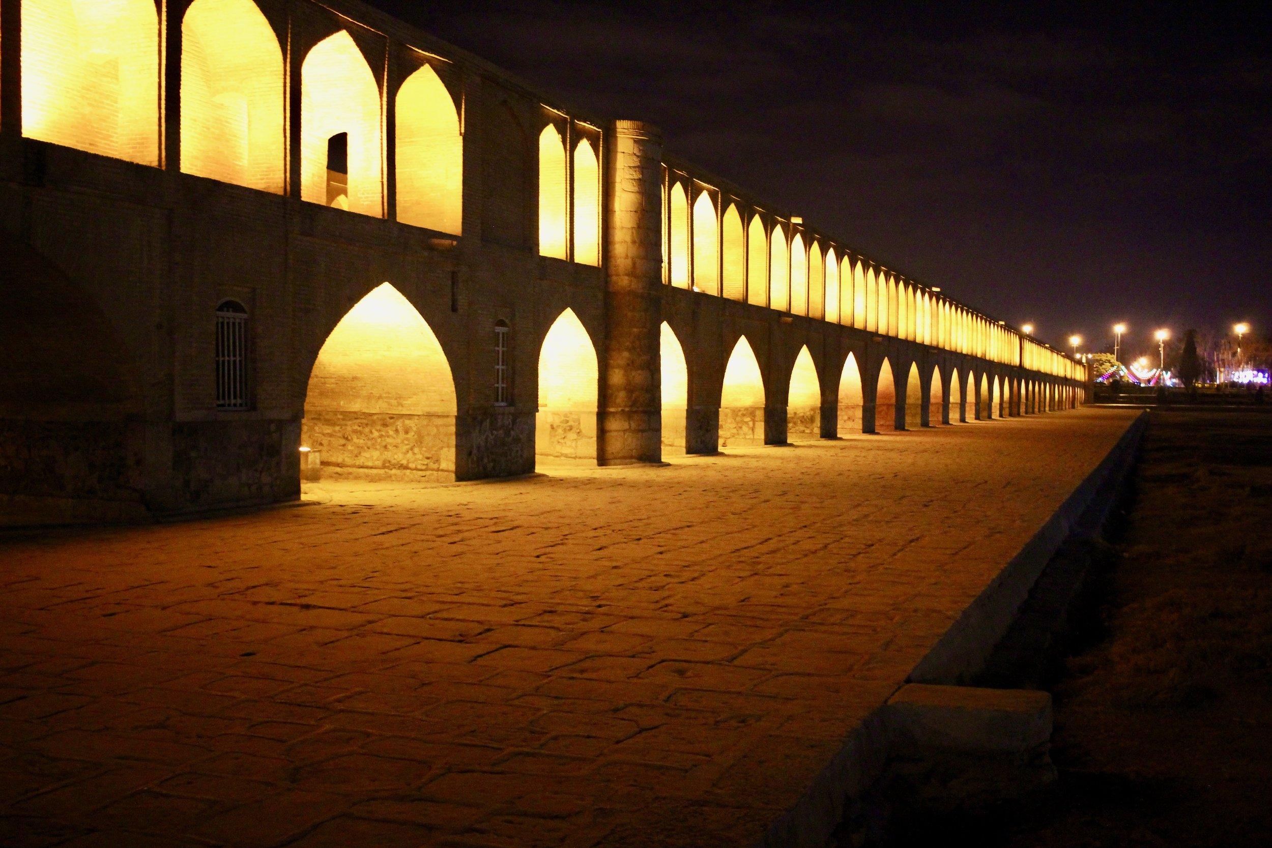 Siosepol Bridge, Esfahan