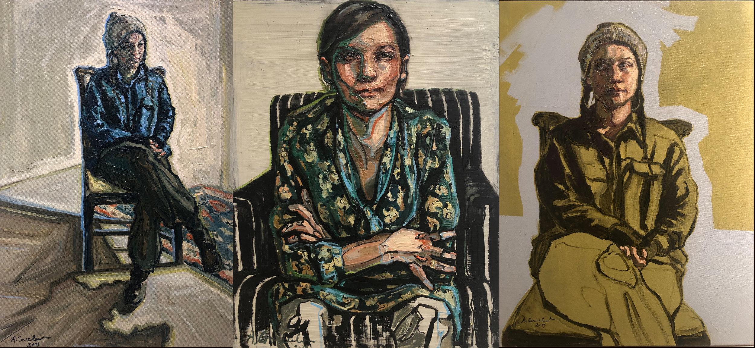 Agnes Grochulska at Eric Schindler