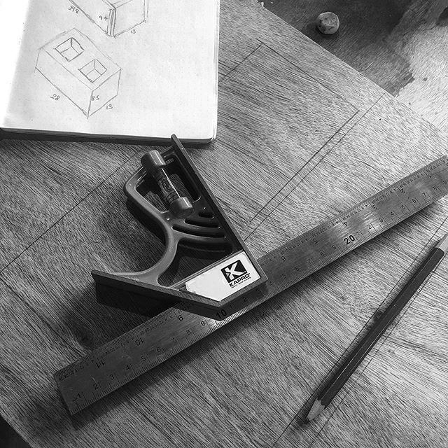 Measure twice, cut once.  #3oddducks #smashingperspectives #workinprogress #artinprogress #concreteart #concrete #art #cement #measurements #measure