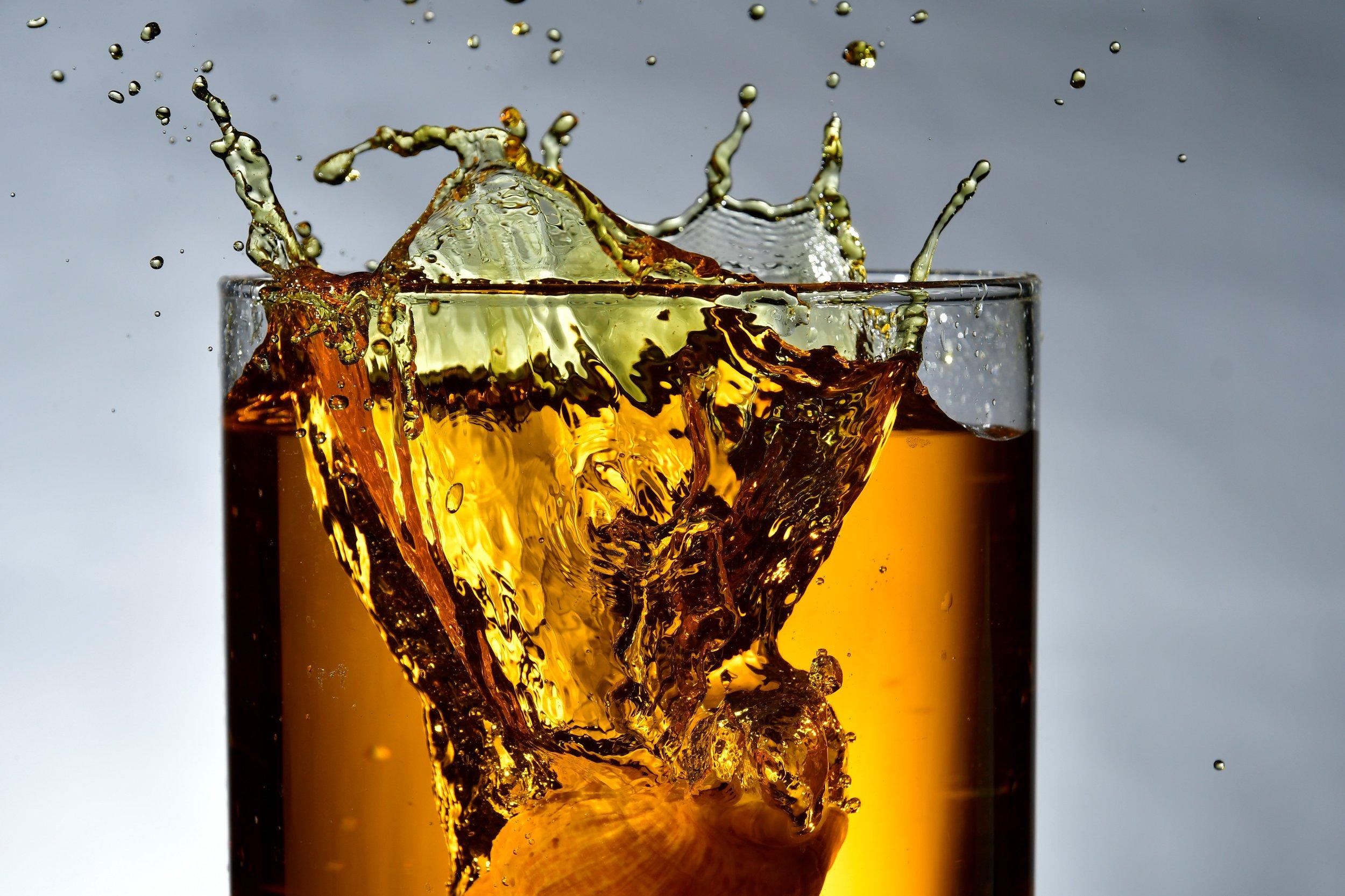 - whiskey tasting
