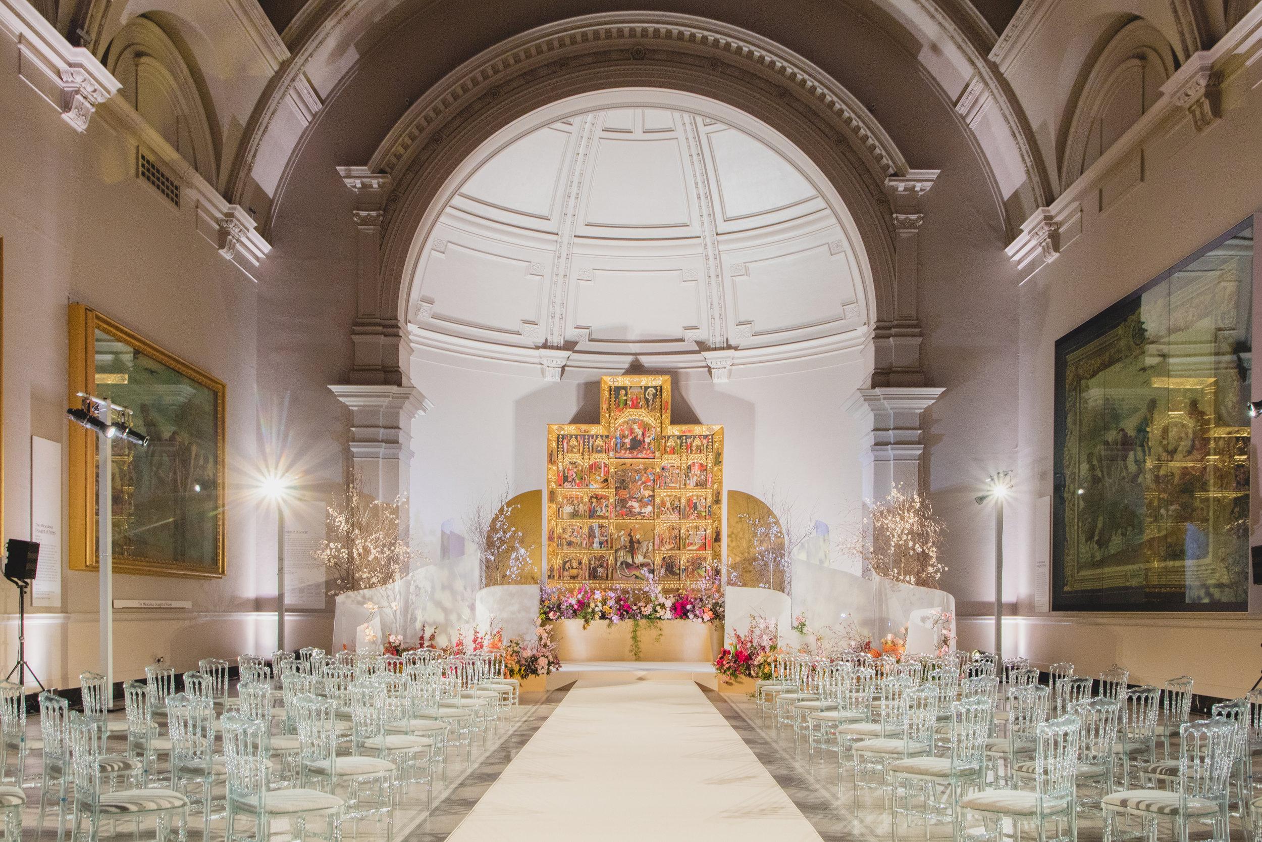 V&A wedding showcase Kit Oates