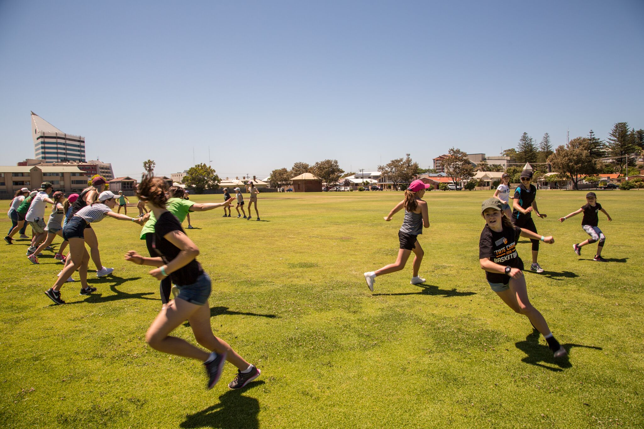 THE HAPPYWHENFIT AMAZE-TEEN RACE EVENT IN BUNBURY