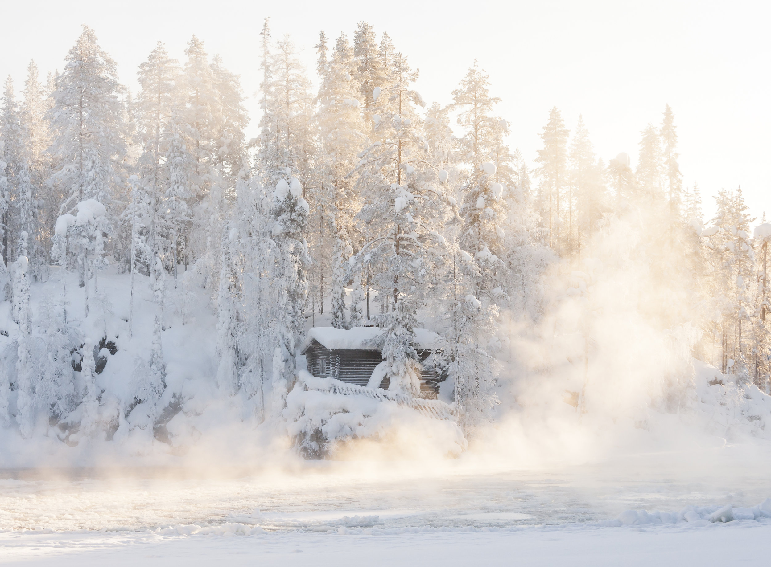 Winter holiday in Sweden