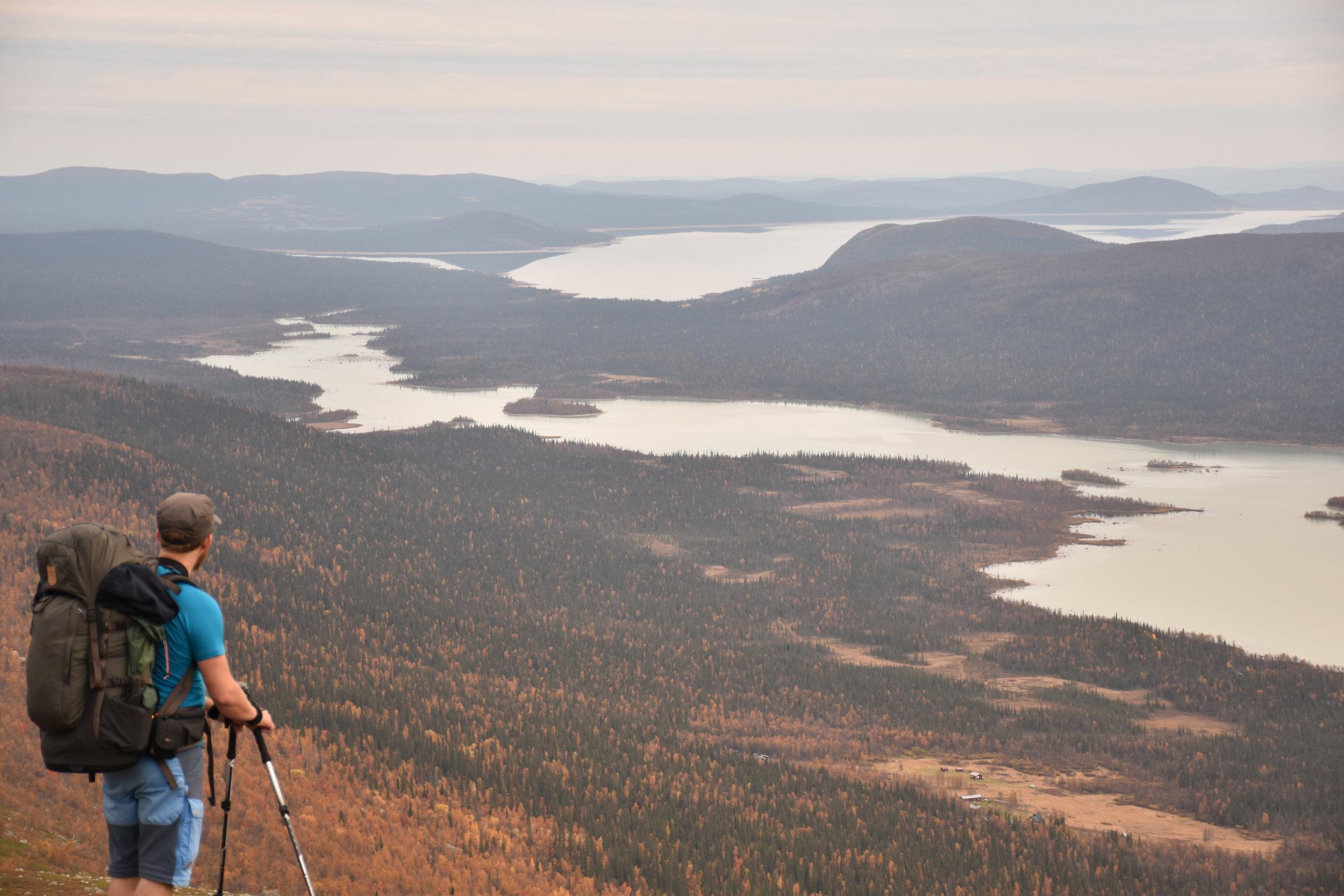 View over Rapadalen in Sarek National Park. Off the Kungsleden-trail.. Photo: Boel Engkvist
