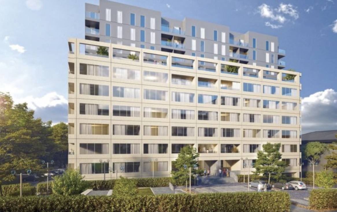 Westgate House, Ealing - The project involves an 8 storey office block in Ealing for conversion under permitted development rights. The new scheme will provide over 311 apartmentswith addition of two new build floors. The M&E services include comfort-cooling and central mechanical ventilation with heat recovery. Lifestyle facilities are included in the scheme, such as a fully-equipped gym, sauna and steam room with an adjoining screening room as well as a communal terrace lounge. O'Shea are working as the design & build contractor and are developing the scheme in conjunction with Galliard Homes.