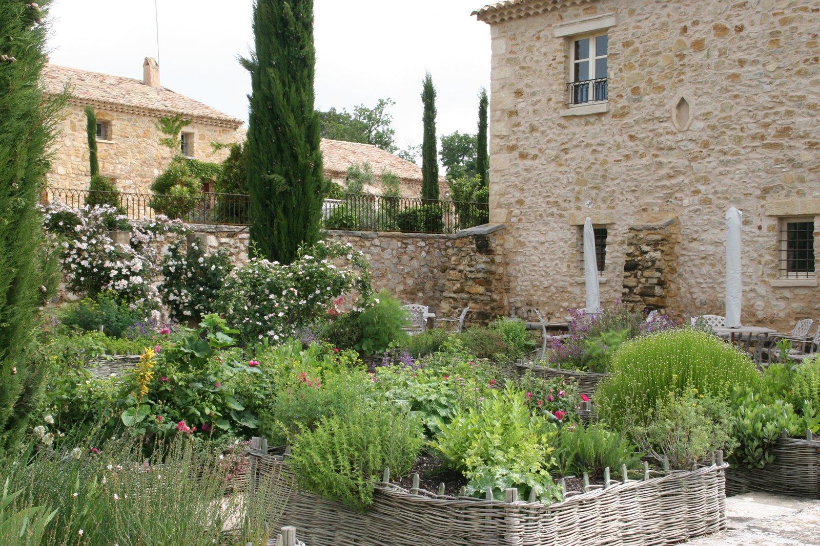 La Verriere herb garden