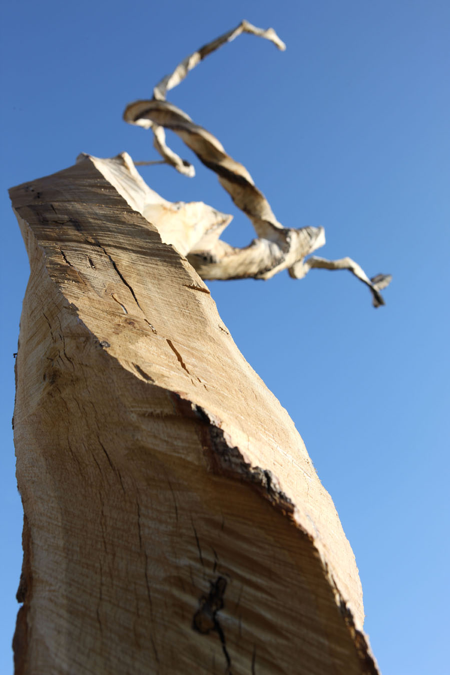 La Verriere wood sculpture