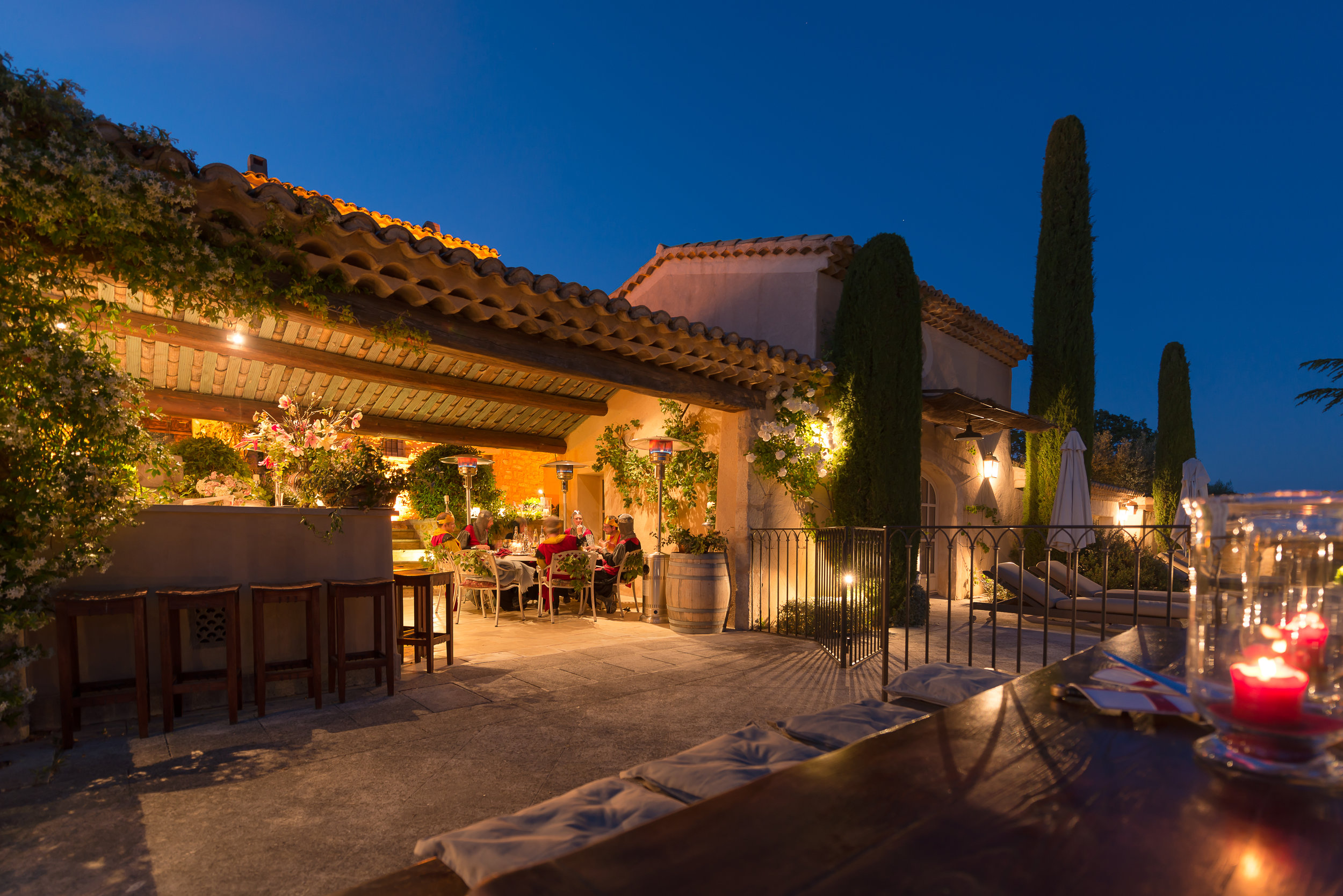 La Verriere outdoor dining