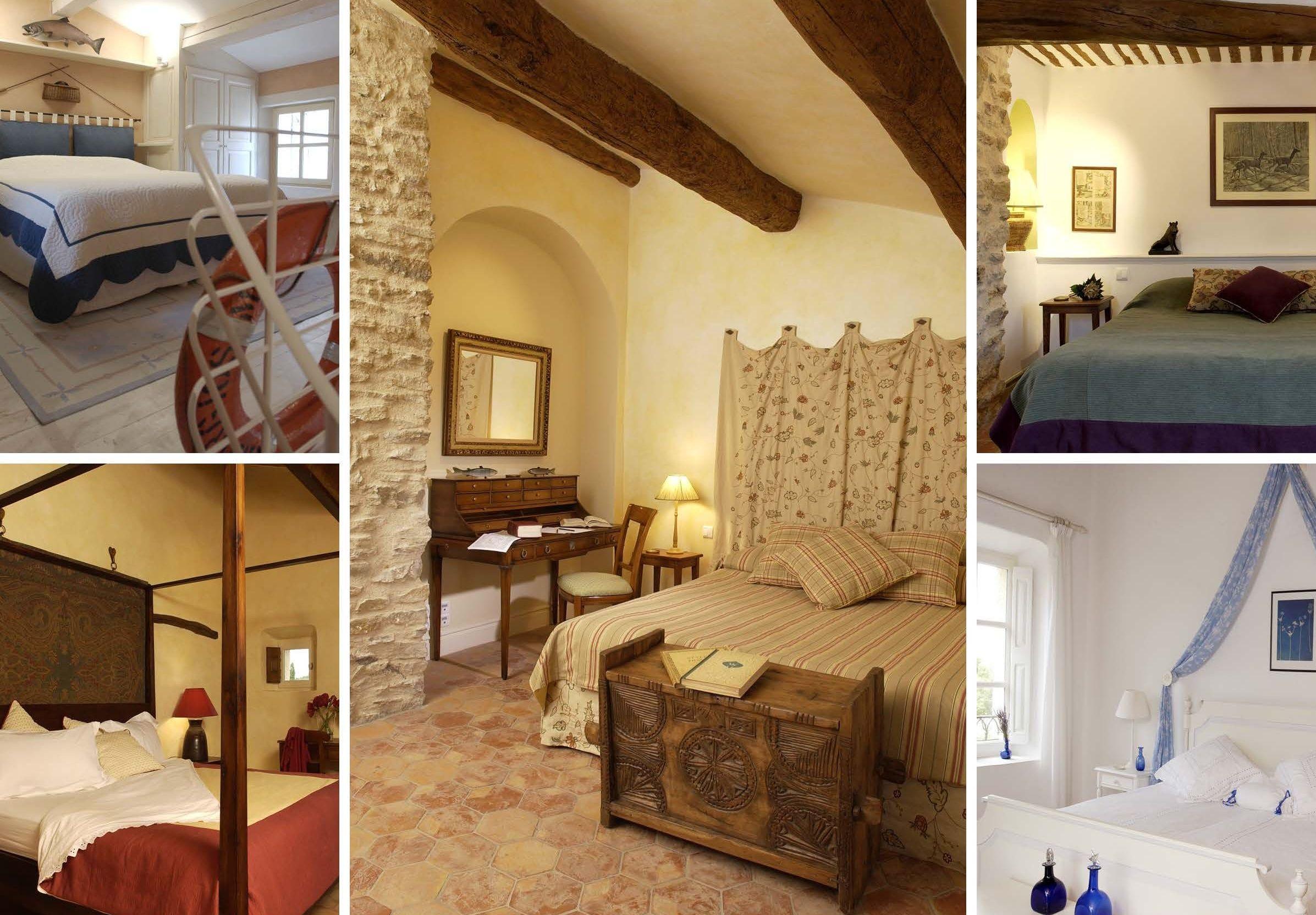 La Verriere bedrooms