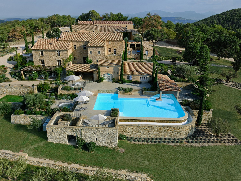 La Verriere aerial view