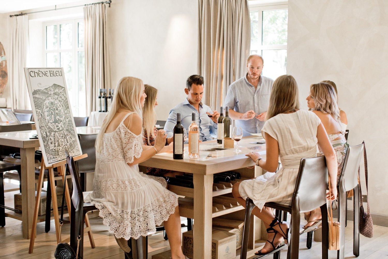 La Verriere wine tasting