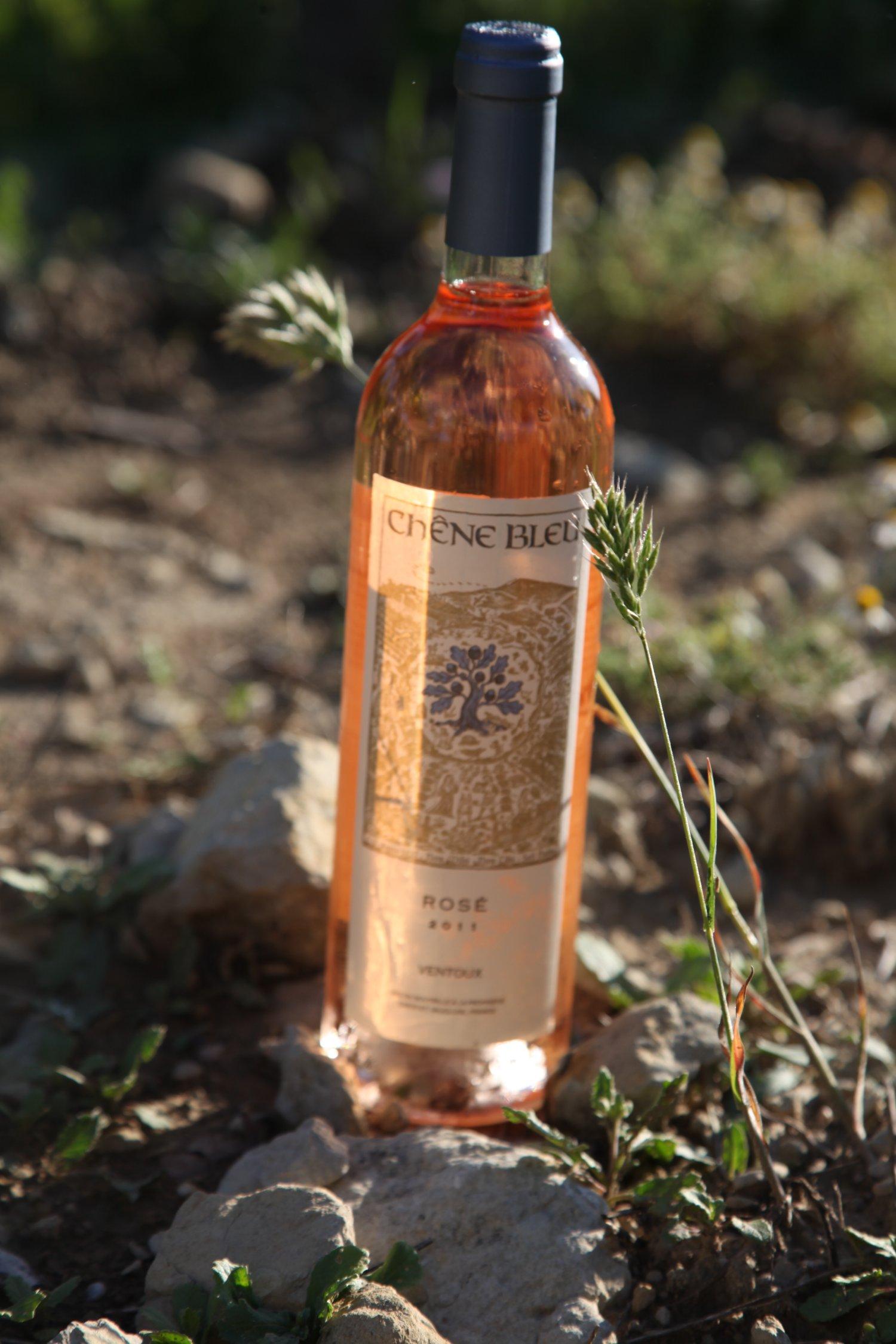 La Verriere Chene Bleu rose wine