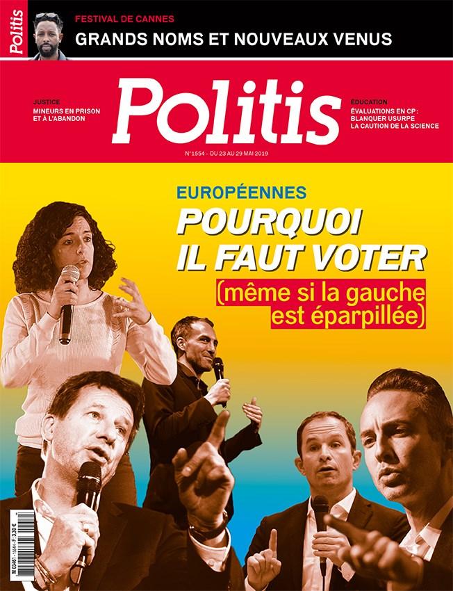 Couverture de Politis, Mai 2019