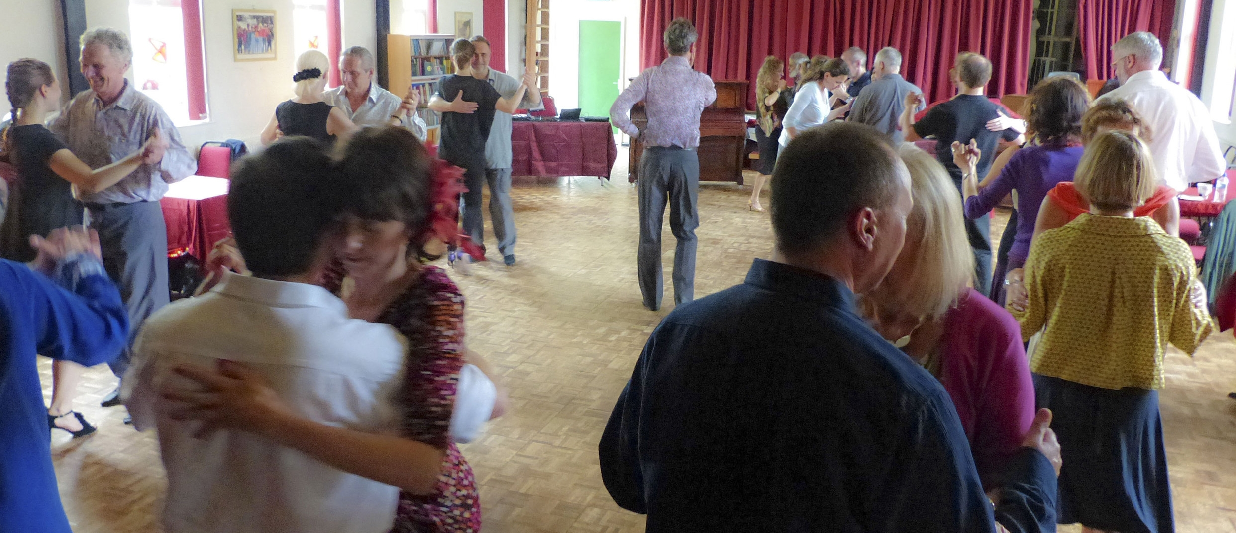 Tango Class in Swansea with Marek and Olivera