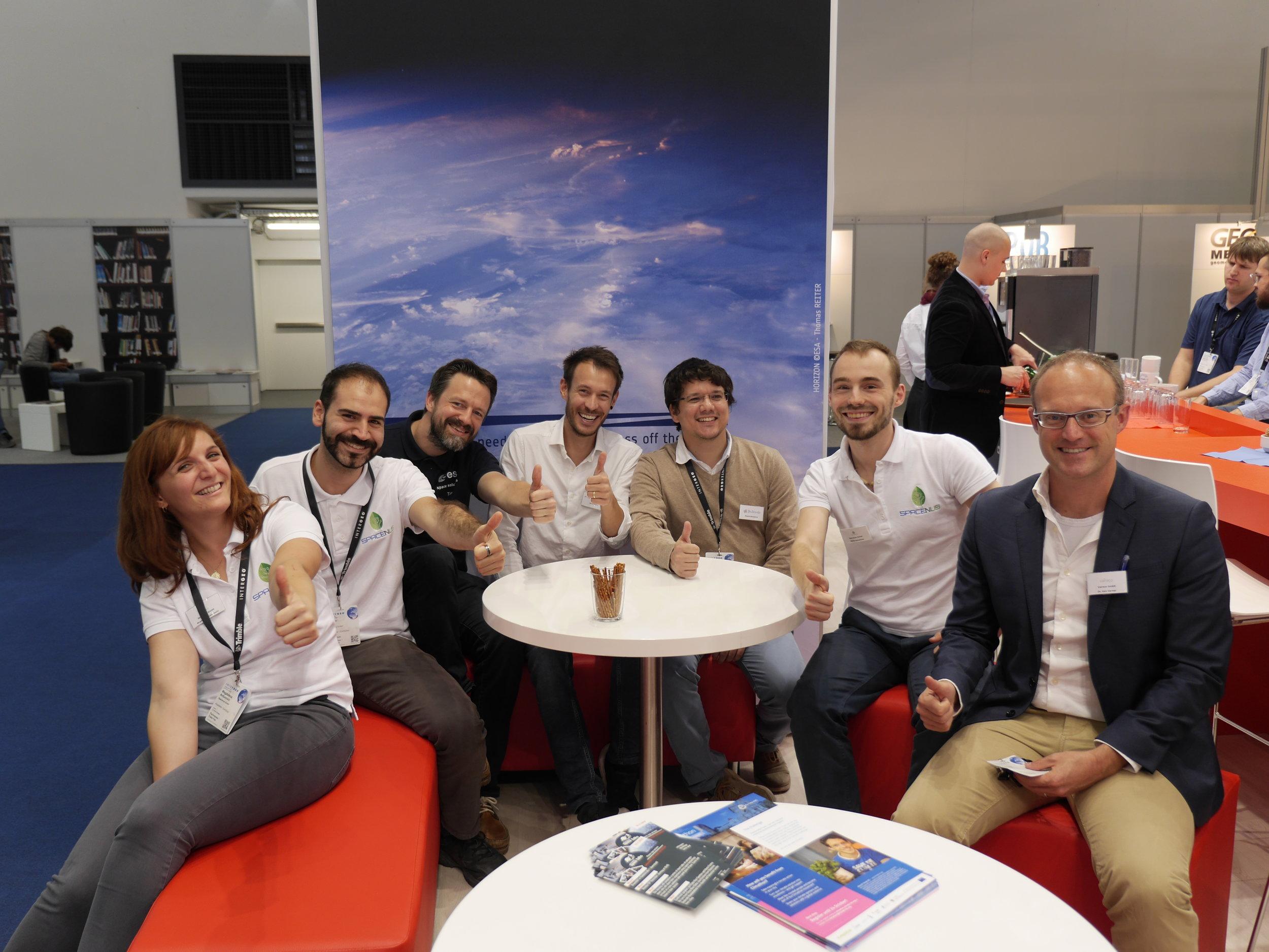 Spacenus together with cesah, Rokubun, Balamis and Vaireco (Photo source: cesah GmbH)