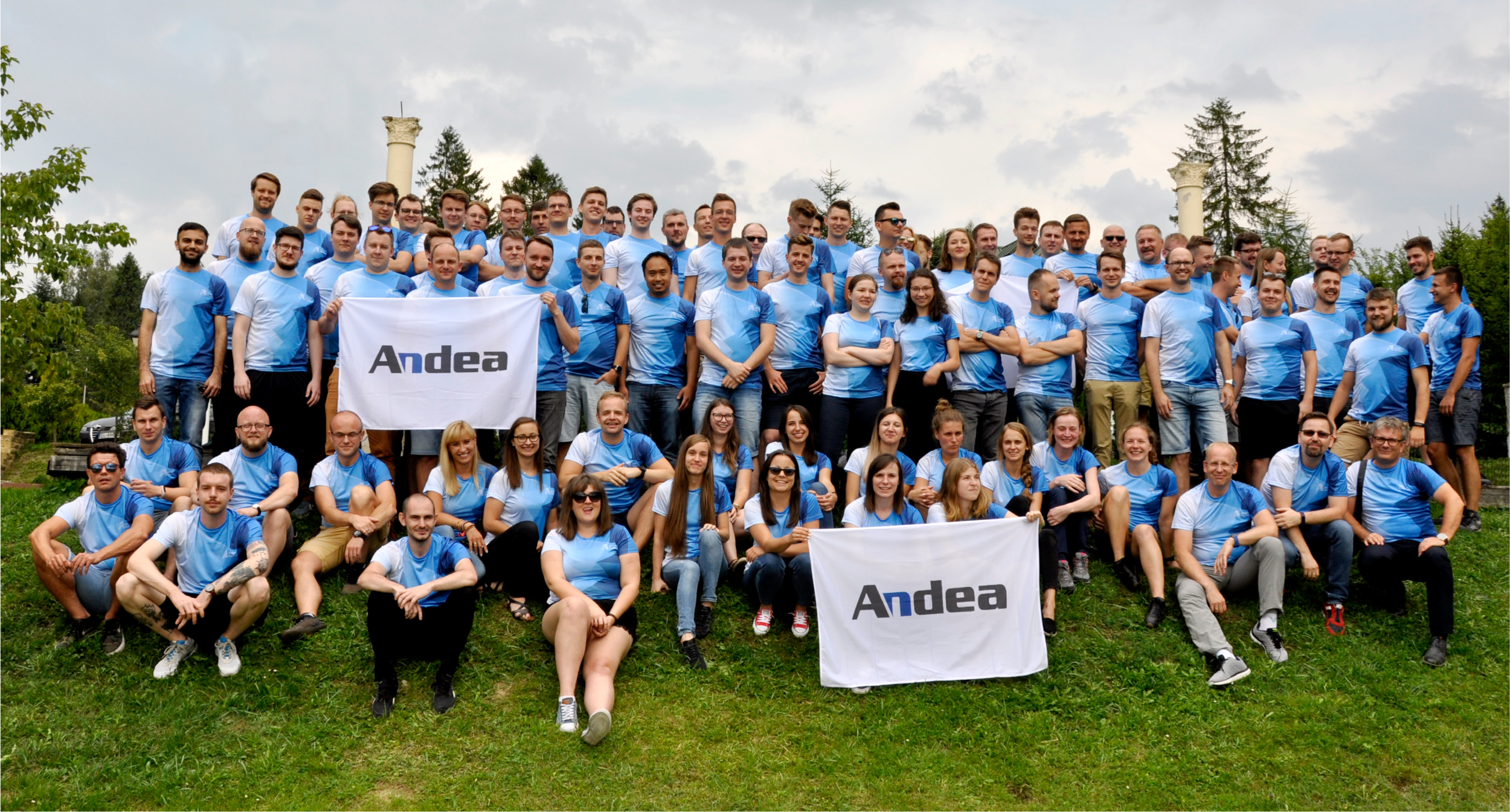 The majority of the EU Andea team as of August 2018