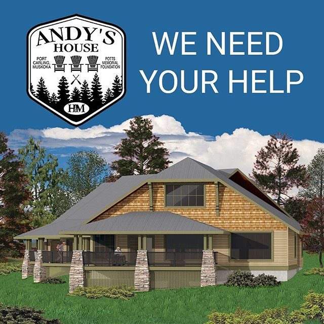 WE NEED YOUR HELP  Andy's House - A Hospice Palliative Care Hub  The construction of @andyshousemuskoka is underway and is scheduled to be complete by Fall 2019. This is a community funded project and we appreciate every dollar that is and has been donated. These donations are tax receiptable by Hospice Muskoka.  WE ARE EXCITED TO ANNOUNCE THAT WE HAVE BEEN APPROACHED BY FOUR PARTIES, GENEROUSLY WANTING TO DONATE $200,000 BUT... THE FUNDS ARE BEING GENEROUSLY DONATED WITH THE UNDERSTANDING THAT THIS IS TO BE A MATCHING CAMPAIGN. *The deadline for this Campaign is: August 23rd, 2019  These funds will enable us to move closer to the completion of our capital campaign of $2.8 Million. With the campaign and the building in their final phase,we will then be concentrating on additional fundraising needed for the furnishing and operation of Andy's House. The goal for this part of the project will be $1,000,000.  WE TRULY APPRECIATE THE GENEROSITY OF EVERYONE WHO HAS SUPPORTED THIS HOSPICE PALLIATIVE CARE INITIATIVE FOR SOUTH AND WEST MUSKOKA.  DONATE ONLINE NOW - https://andypottsmemorialfoundation.com/donate (link in bio)  Or Contact: Matt705-644-0202 Dan 705-646-4941 Bob 705-646-4205  #weneedyourhelp #hospicemuskoka #palliativecare #communitysupport #muskoka #muskokalakes #portcarling #lakemuskoka #donate