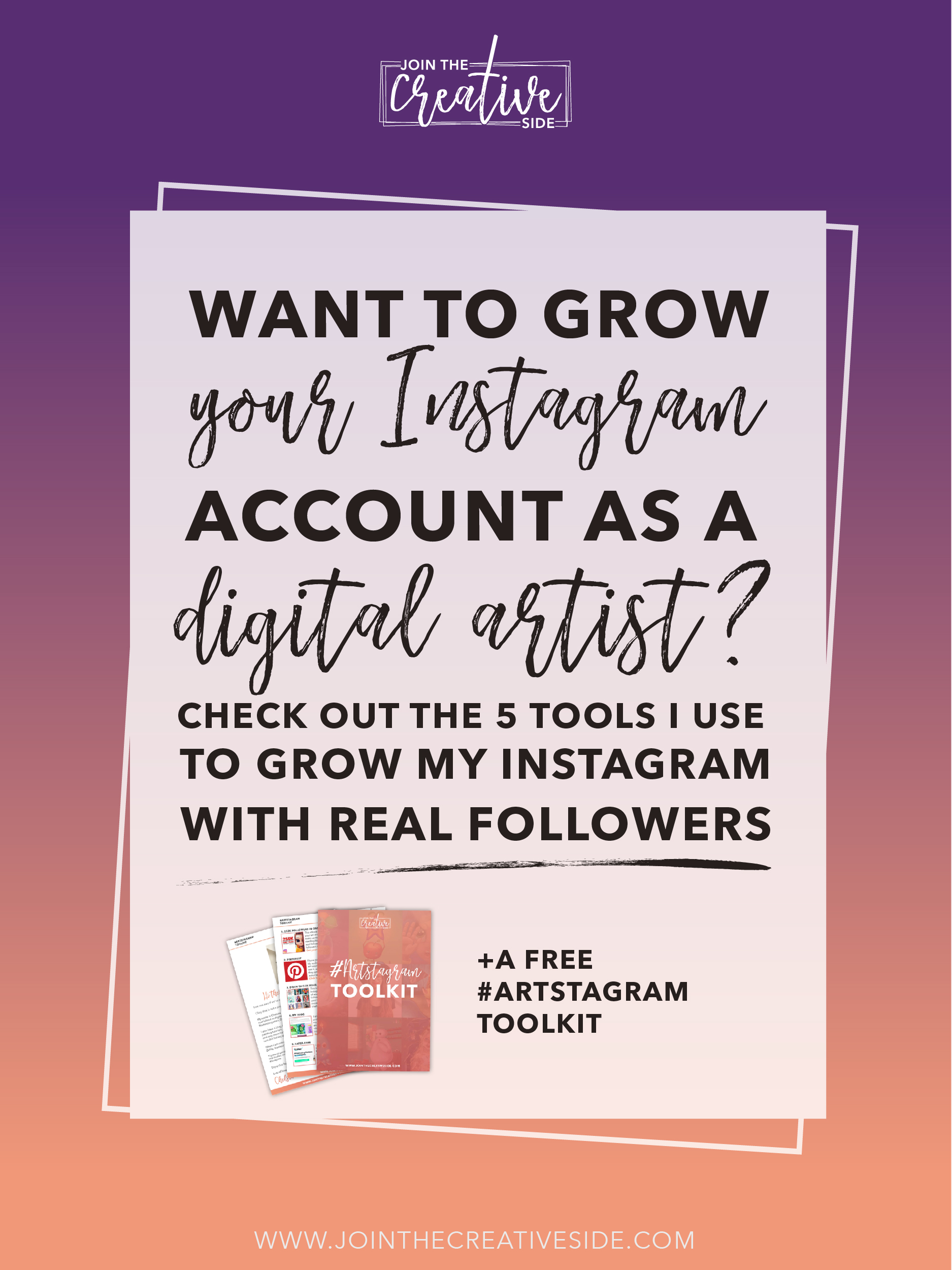 Are you struggling to grow your Instagram as a digital artist? Is the Instagram algorithm a total nightmare for you? I have been there. I used to struggle big time with getting followers on Instagram! That was until I implemented all the tools I am using now to grow my Instagram as a digital artist. Read the blog post to find out which tools you need to use to build a high-engaged audience on Instagram #instagram #Instagrammarketing #socialmediamarketing #artinstagram #instagramforartists