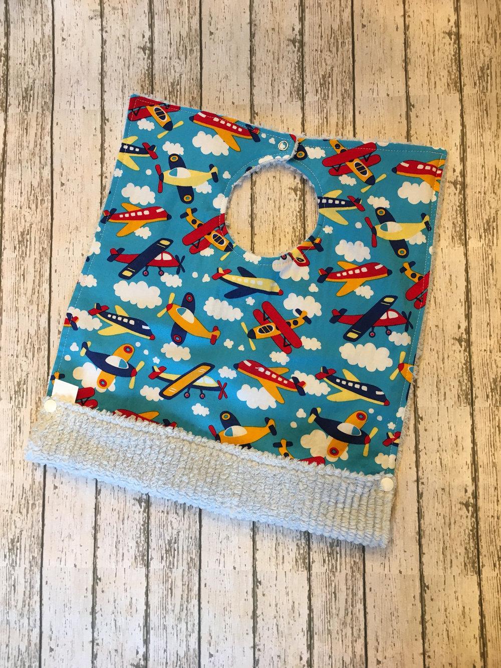 Girl/'s First Birthday Boho Woodland Reversible Girl Bib Baby Shower gift