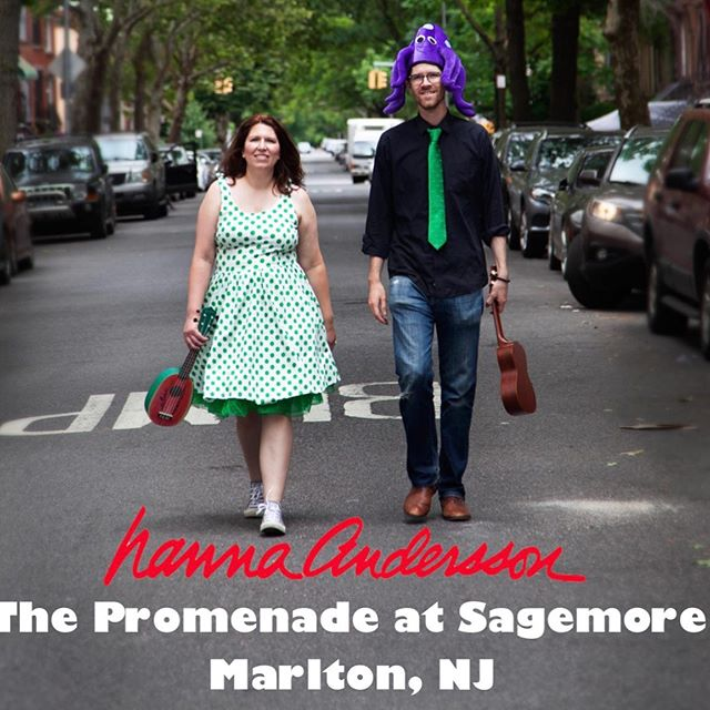 Next Thursday, May 30th at 5:30pm!!!!!! #musicforkids #musicforfamilies #kidsmusic #kidsmusician #funstuffforkids #njfamilyfun #marltonnj @thepromenadenj