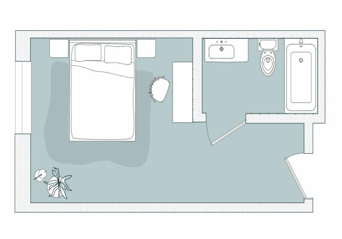 First Floor East Floor Plan