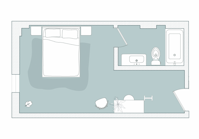 First Floor East Floor Plan 2