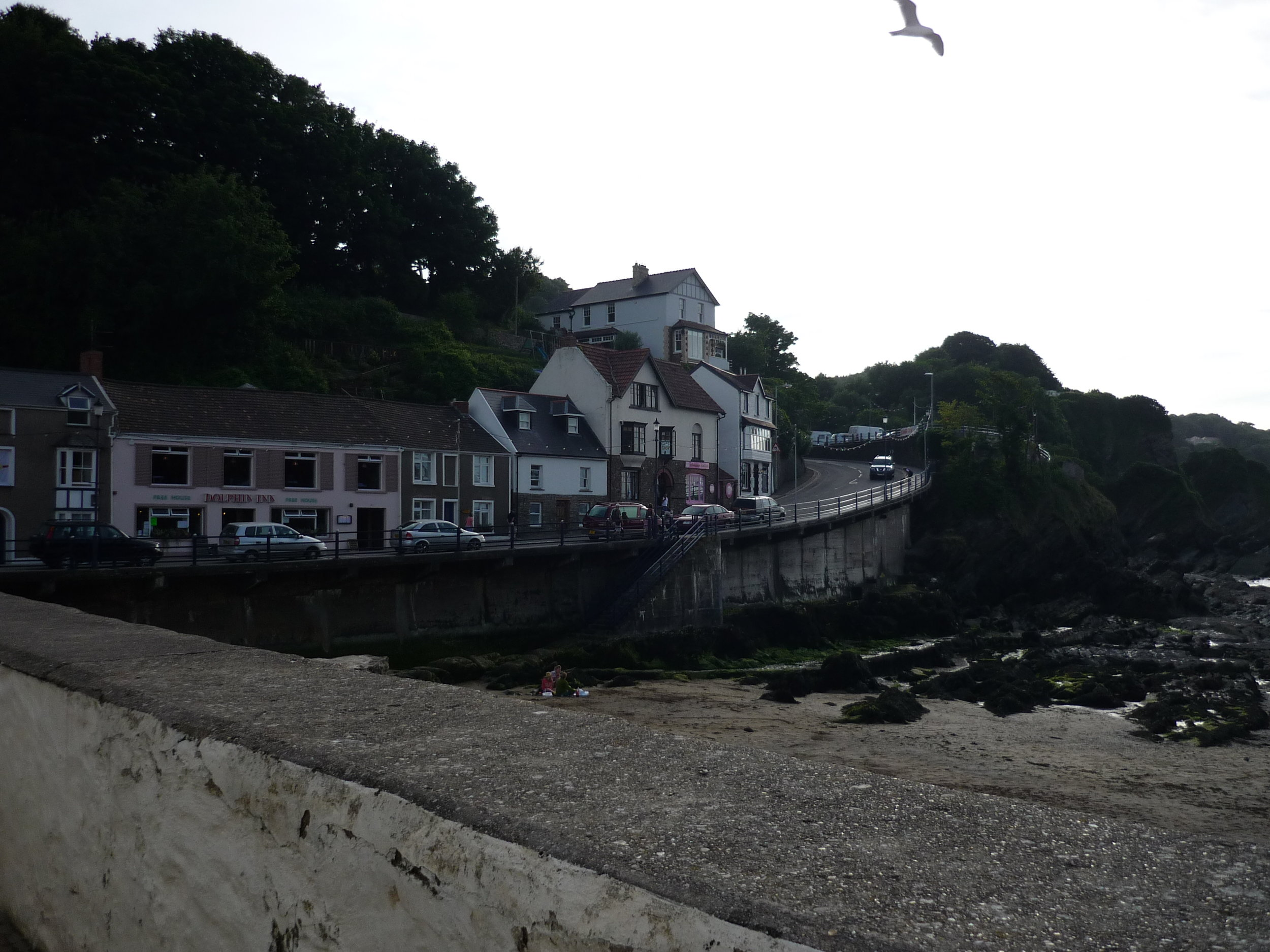 The harbour at Combe Martin today