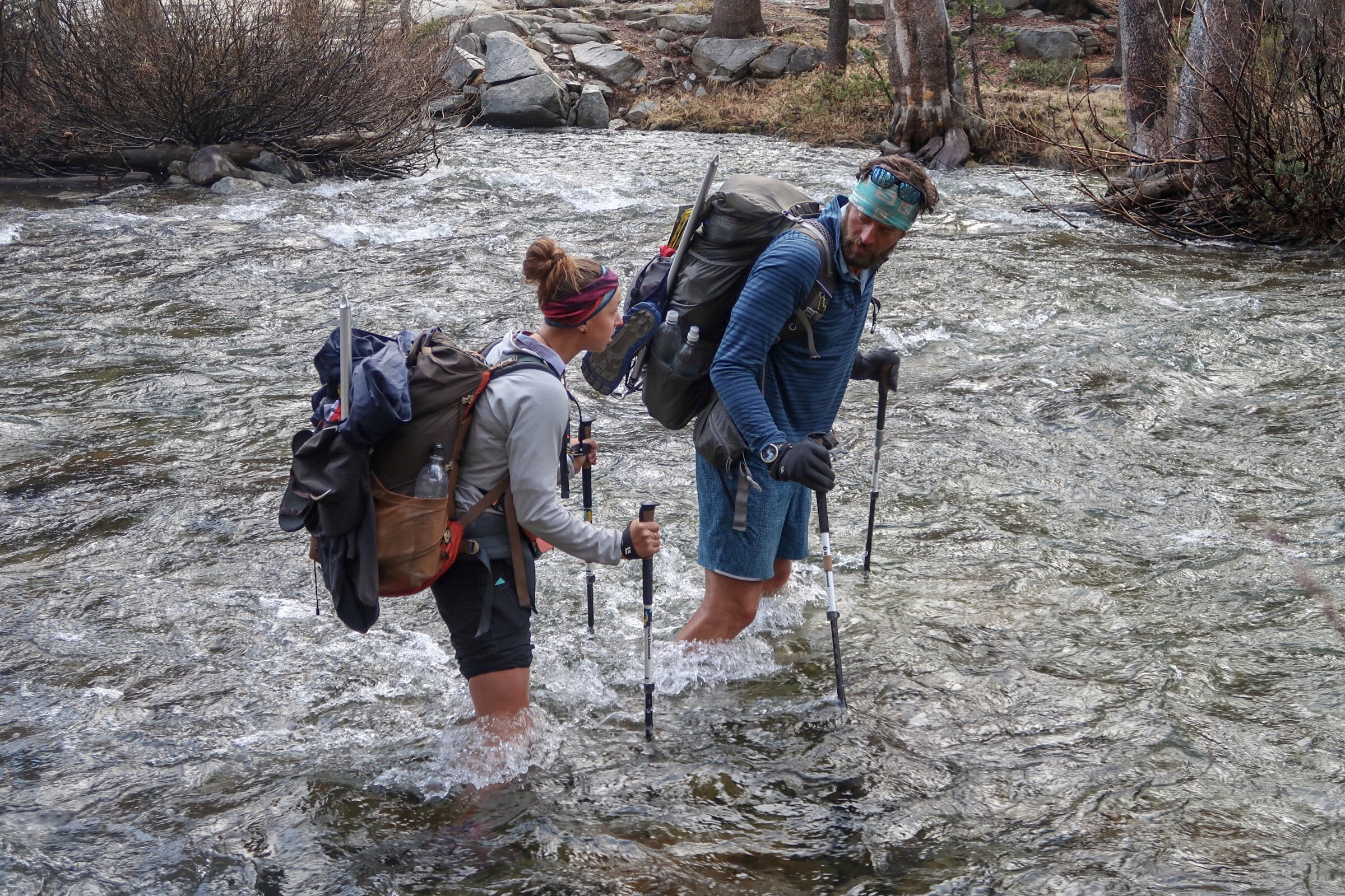 The first hard river crossing