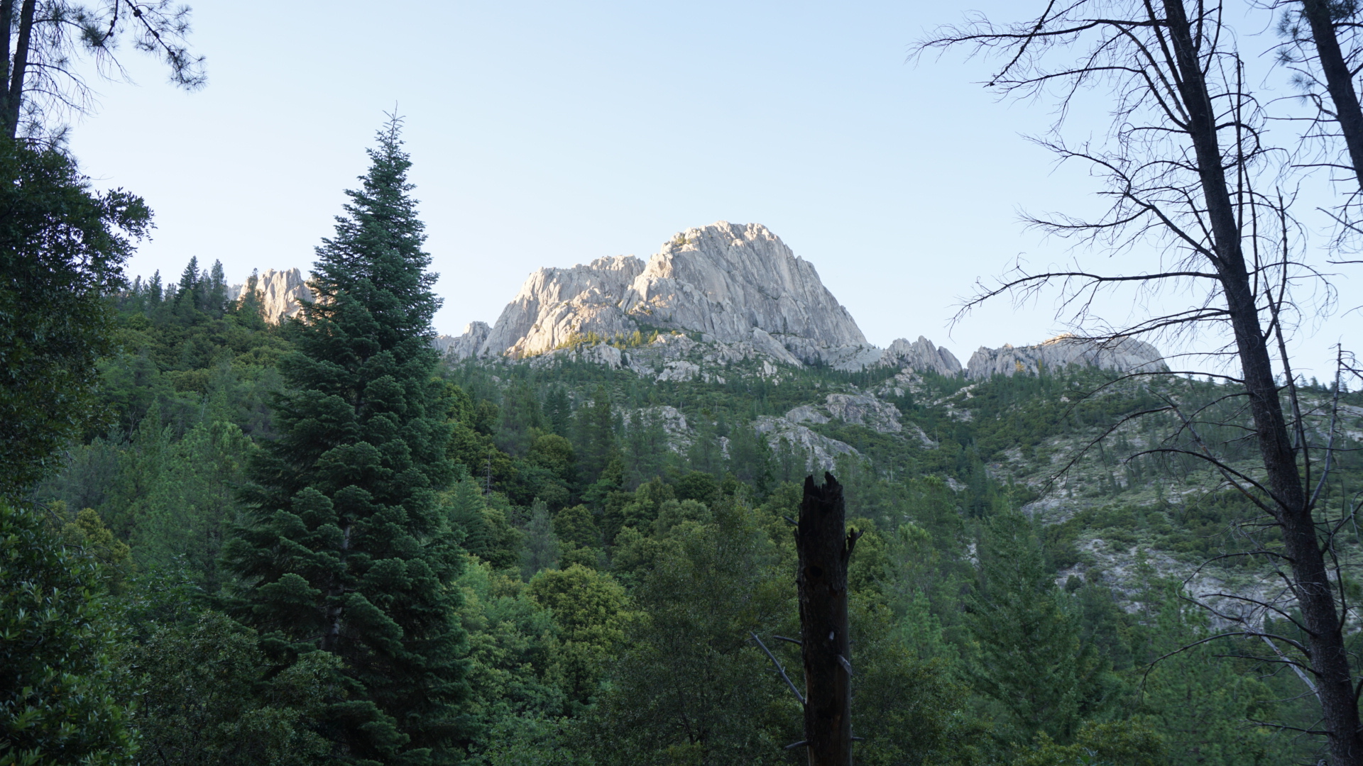 Castle Crags from the PCT
