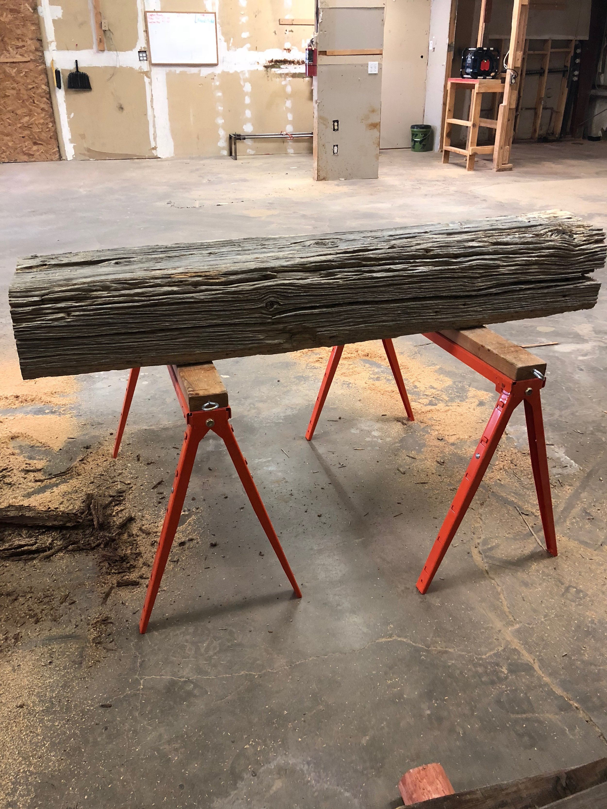 Need a new Mantle? Old Cedar Timber harvested from the Ojito Wilderness back in the early 1900's. Can be sold rustic or milled to your specifications.