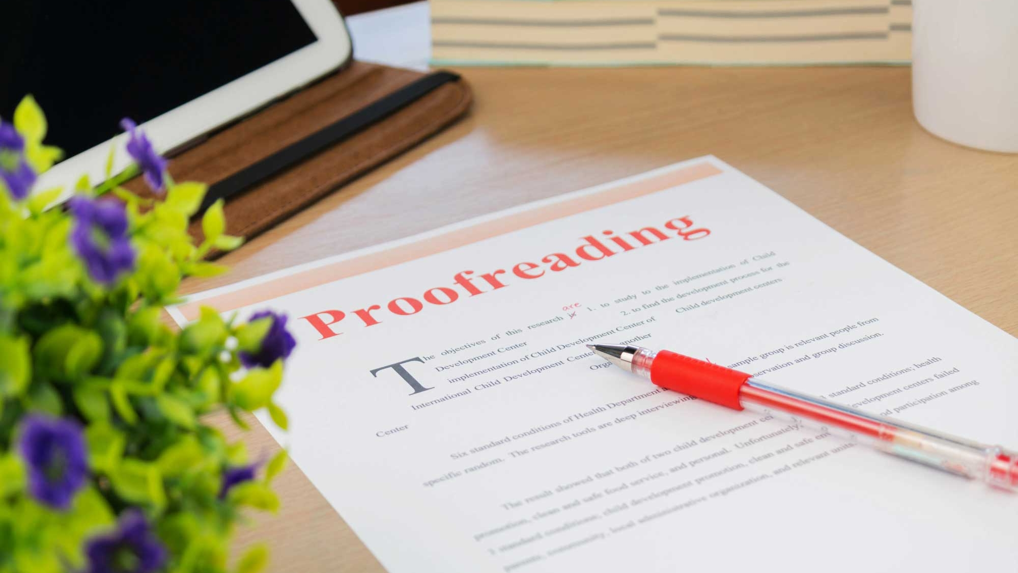 Proofreading - Proofreading should be the final step before the book goes to the presses. A misplaced comma or missing apostrophe generally is more embarrassing than anything else, but for some publications, it could cost a lot of money to reprint materials. Oakhurst Dairy learned this the hard way when they neglected to use a serial comma (also called an Oxford comma or a Harvard comma). A missing comma in this case resulted in a loss of $5 million.