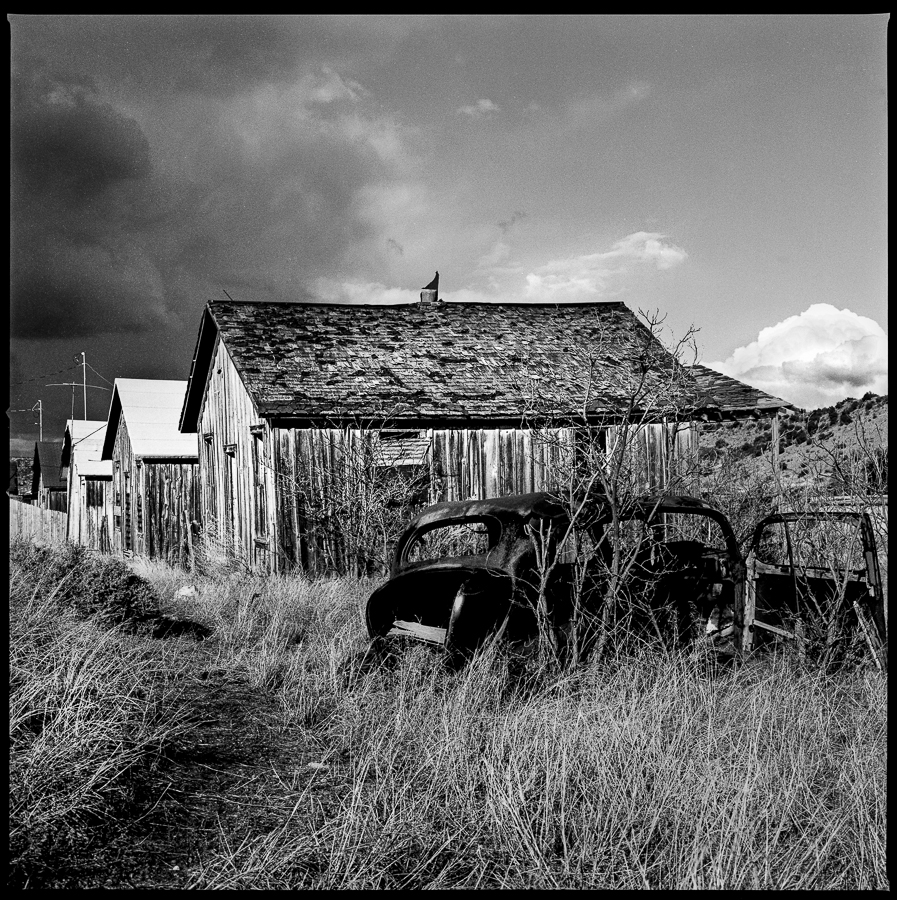 Silver Gelatin Print - Madrid, NM, 1985